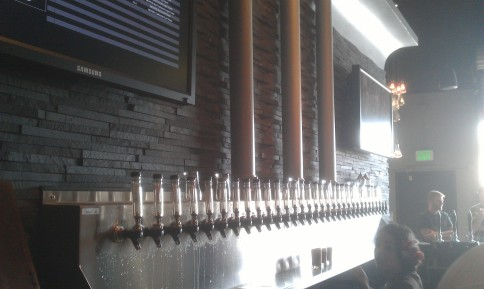 Many taps