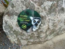 Lemur Feeding Warning